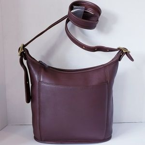 COACH 9816 Brown Vintage Legacy Slim Duffle